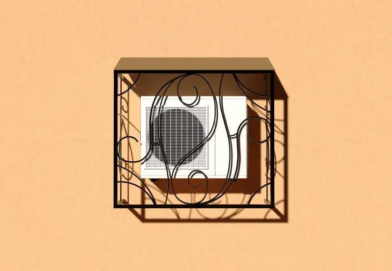 Фото 1 - Решетка для кондиционеров Р-КН 8.