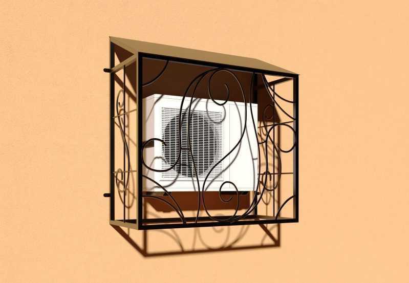 Фото 2 - Решетка для кондиционеров Р-КН 8.