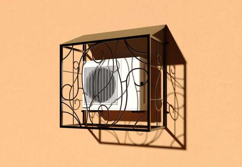 Фото 3 - Решетка для кондиционеров Р-КН 8.