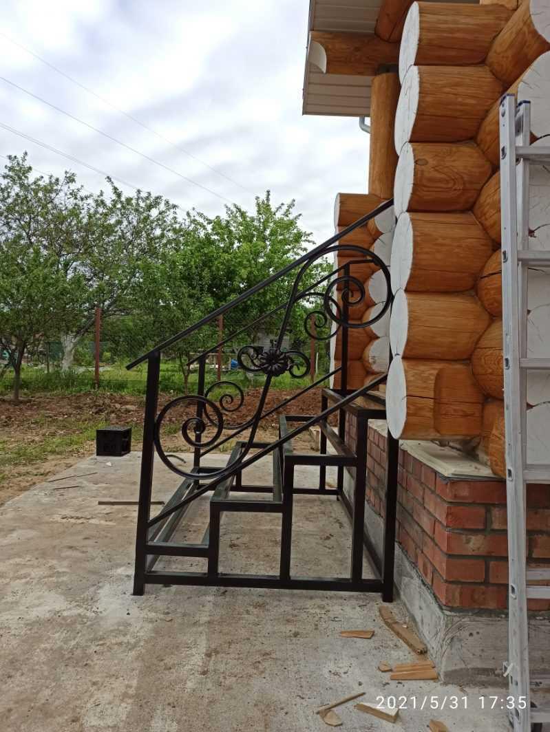 Фото 11 - Перила для лестниц П-006.