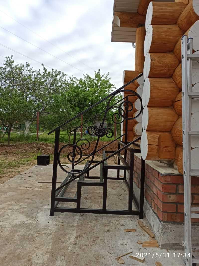 Фото 10 - Перила для лестниц П-006.