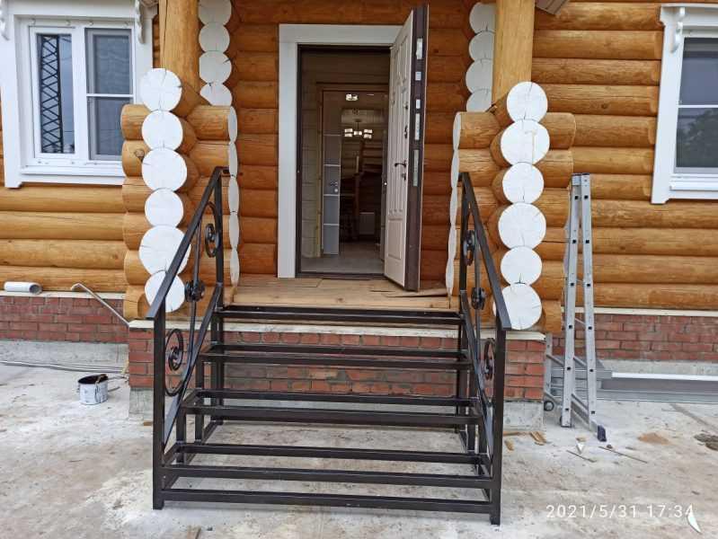 Фото 7 - Перила для лестниц П-006.