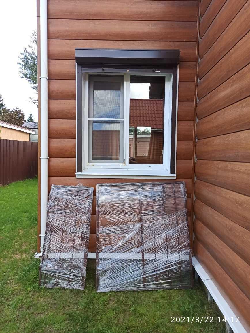 Установка решёток на окна с открываниями Фото 4
