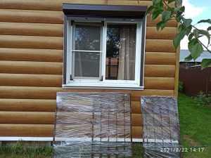 Установка решёток на окна с открываниями