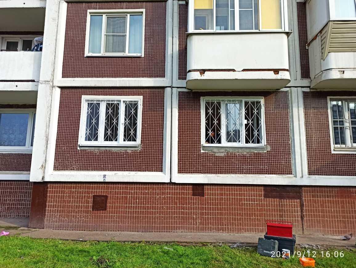 Решетки на окна распашные Фото 2