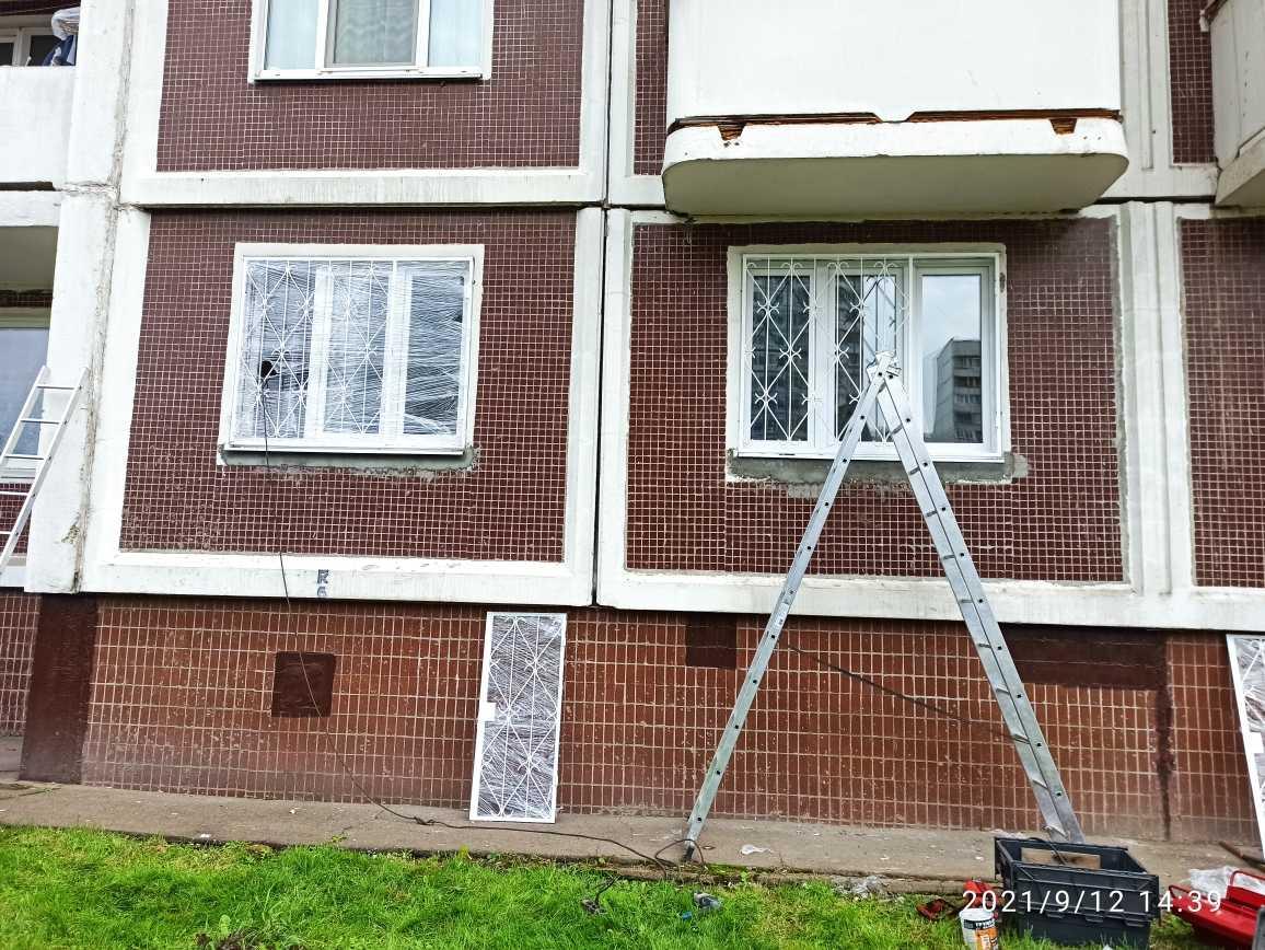 Решетки на окна распашные Фото 3