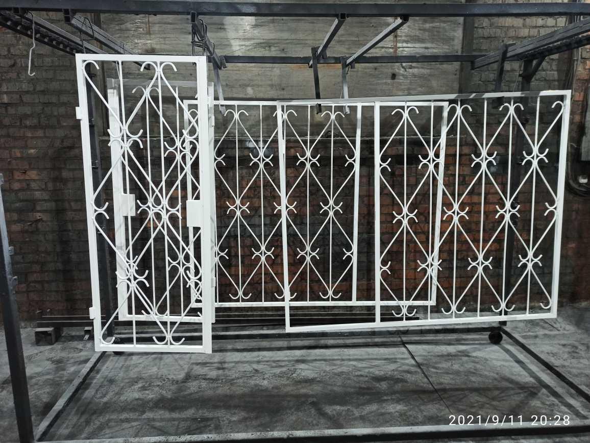 Производство решеток на окна Фото 3